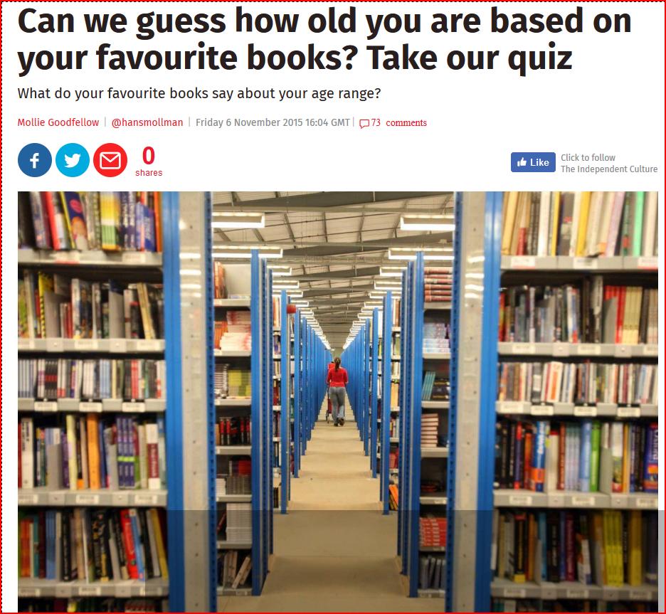 Age assessment quiz