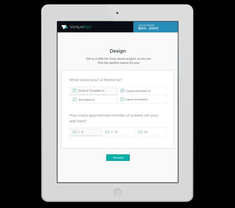 VenturePact's interactive calculator
