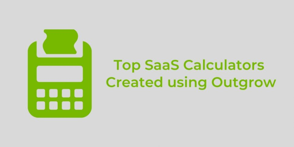 top saas calculators