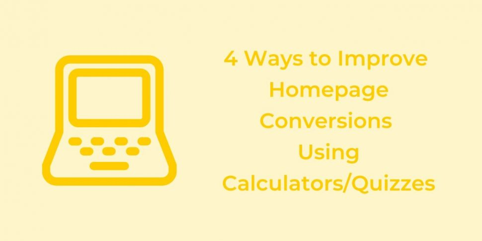improve homepage conversions