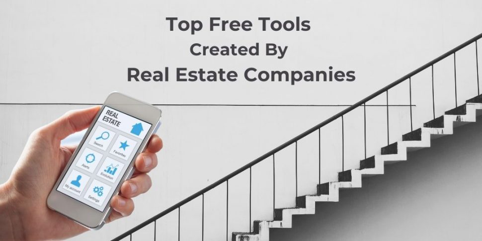 free tools created by real estate companies