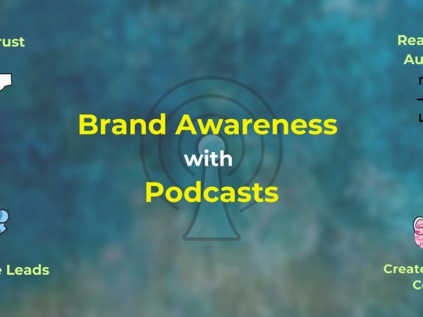 Podcast for brand awareness