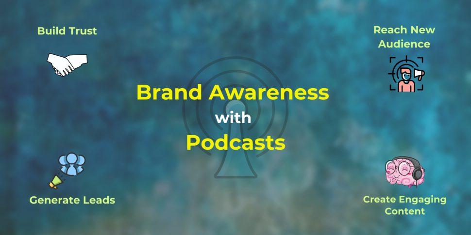 Podcast for brand awareness