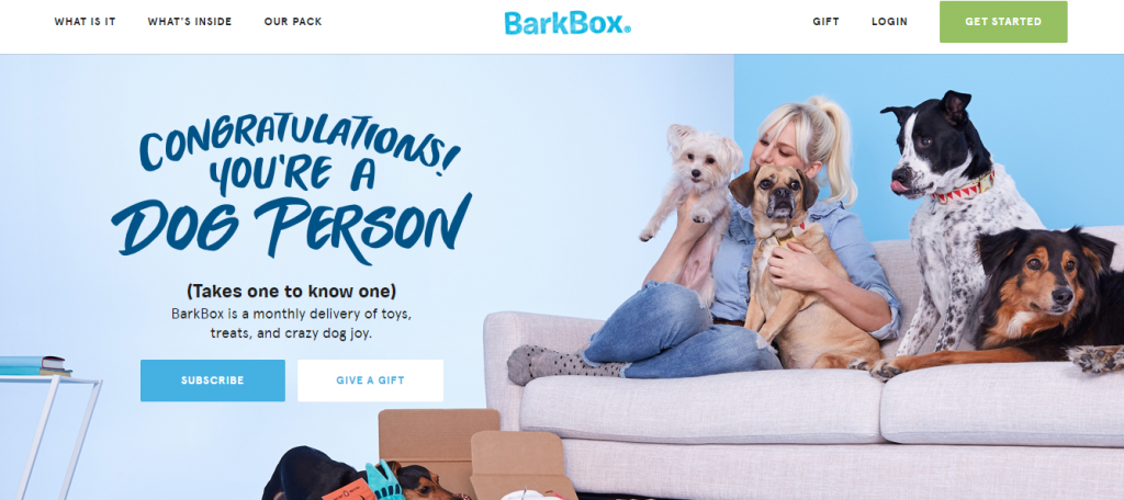 barkbox-homepage-how-to-generate-leads