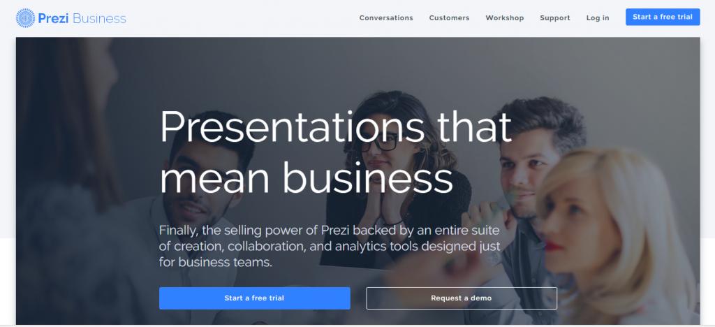 prezi-homepage-how-to-generate-leads