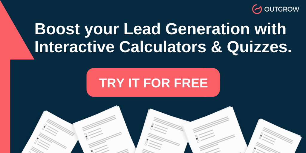 Try Outgrow for Free : adwords performance calculator