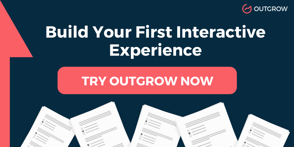Interactive content builder Outgrow