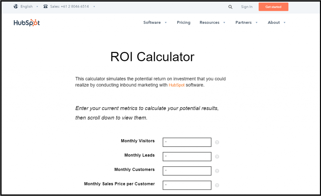 why you need an roi calculator for your website outgrow