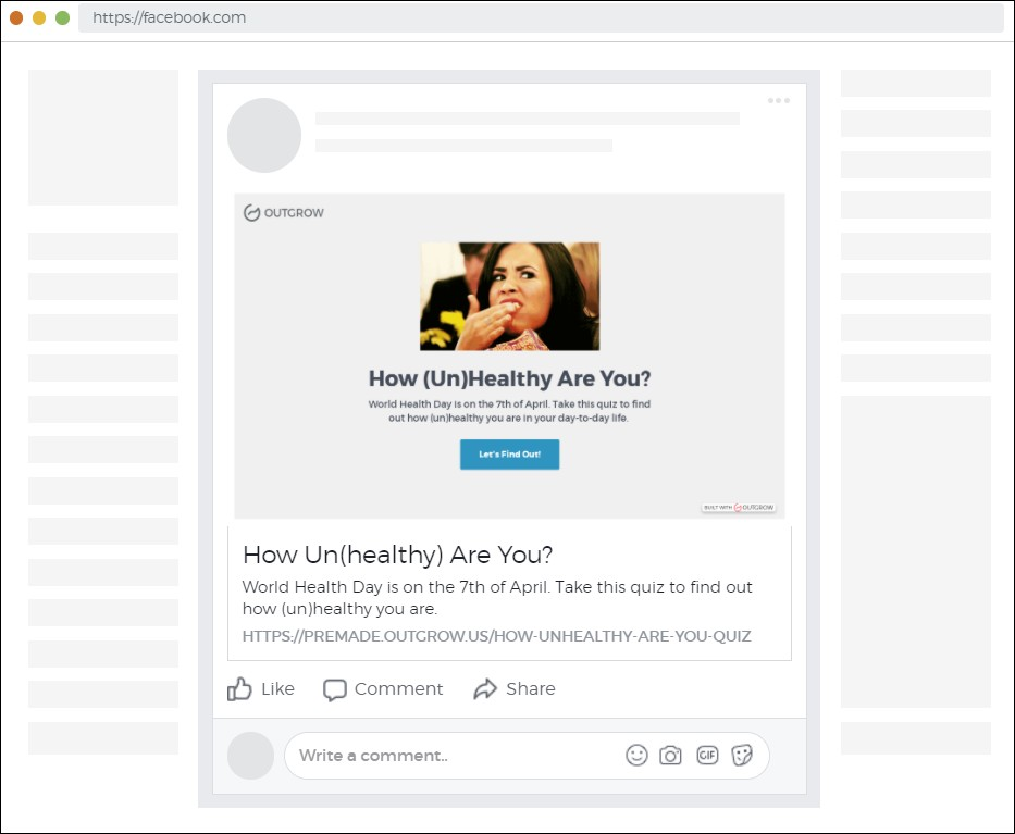 how to make a Buzzfeed quiz