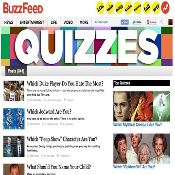 BuzzFeed quizzes how to