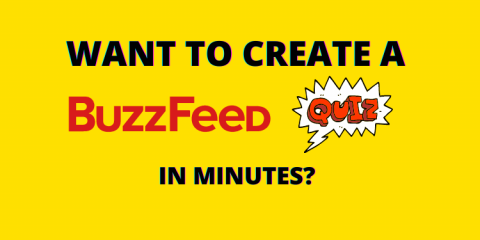how to create a BuzzFeed quiz