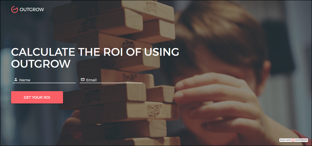calculate the roi of using outgrow