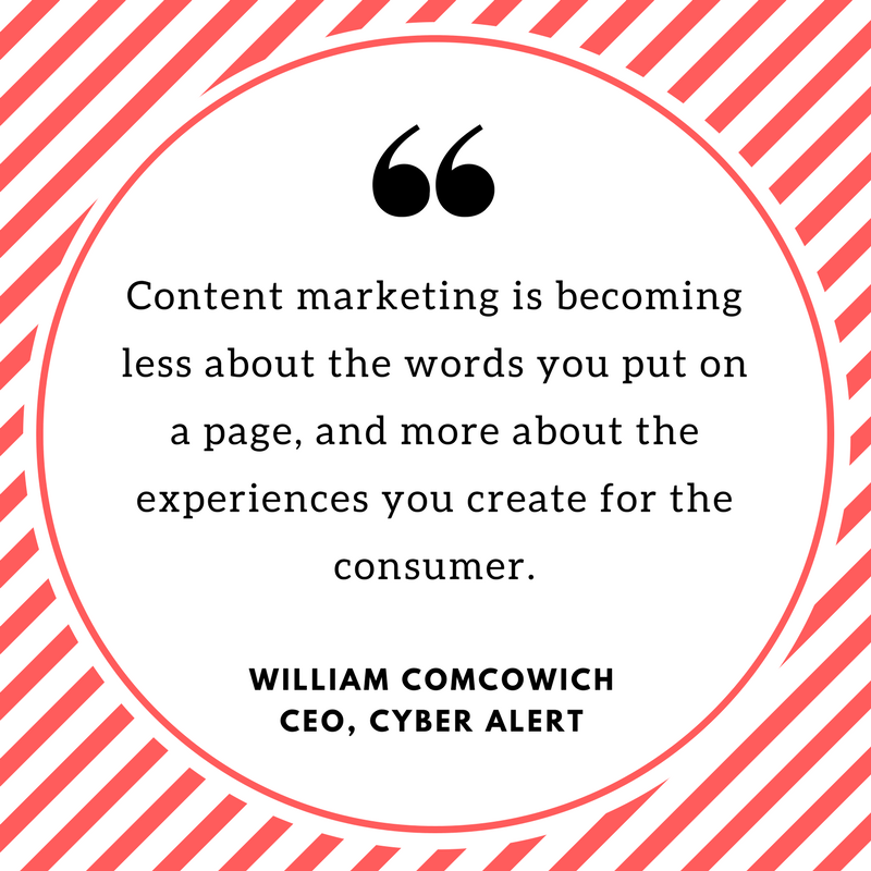 Interactive Content Placement Quote