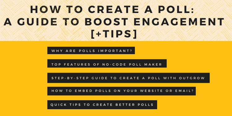 How to Create a Poll A Guide to Boost Engagement