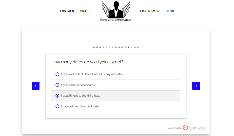 Case Study: interactive quiz