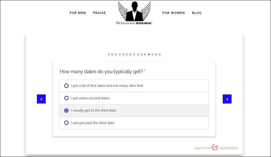Case Study: interactive quiz