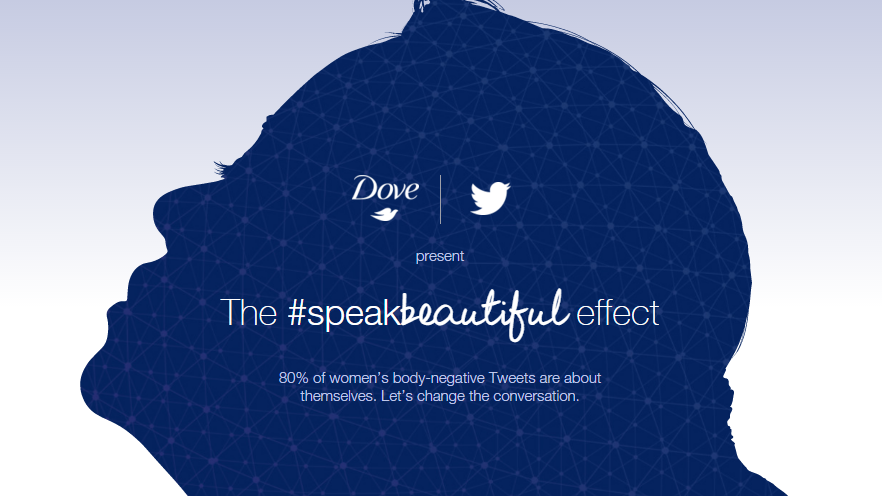 customer engagement examole by Dove