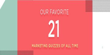 Marketing quizzes