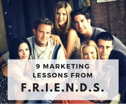 marketing lessons friends