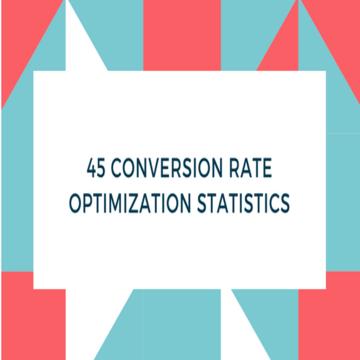conversion rate optimization stats