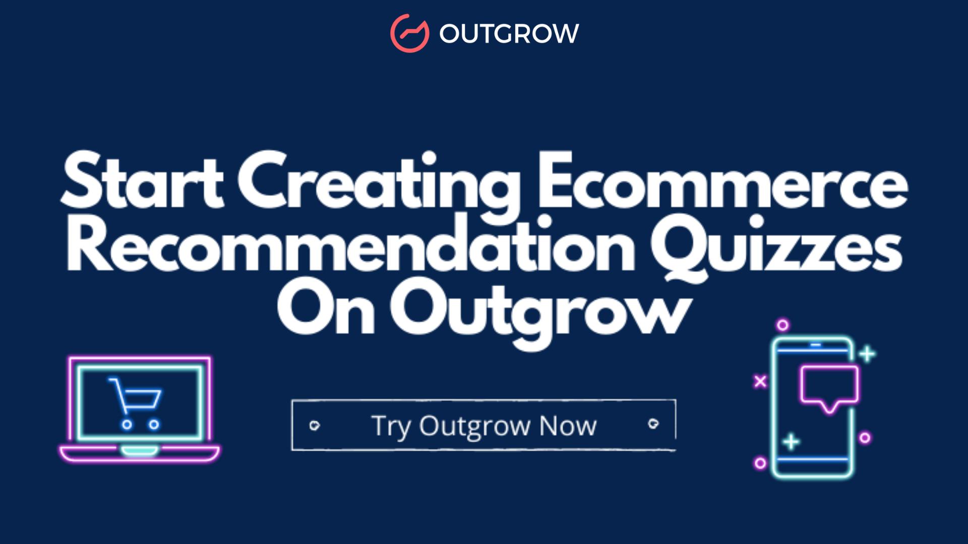 ecommerce recommendation quiz