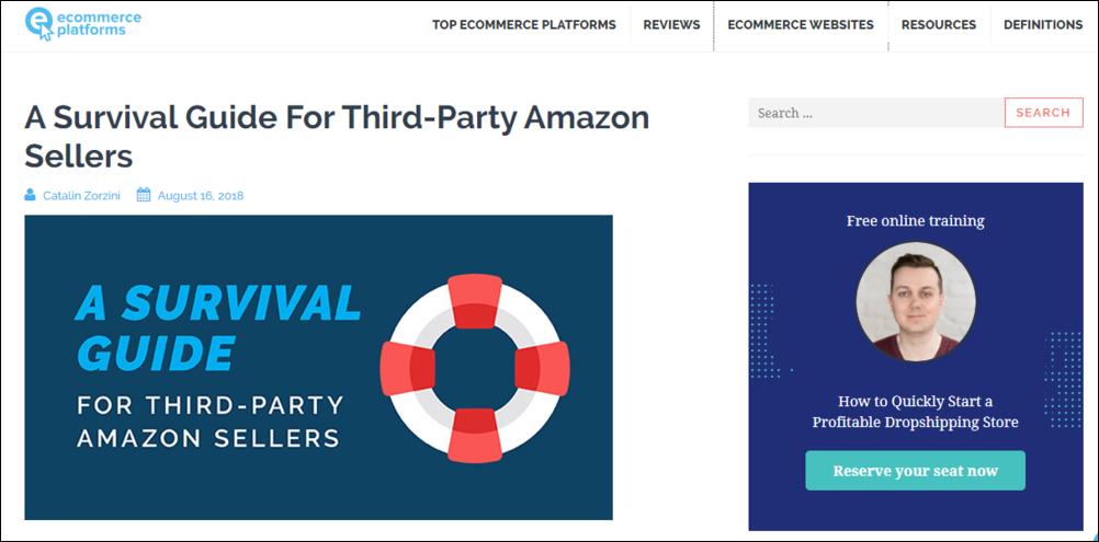 e commerce resource