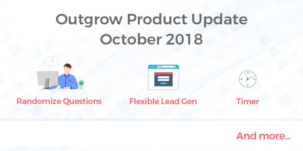 product update october 2018