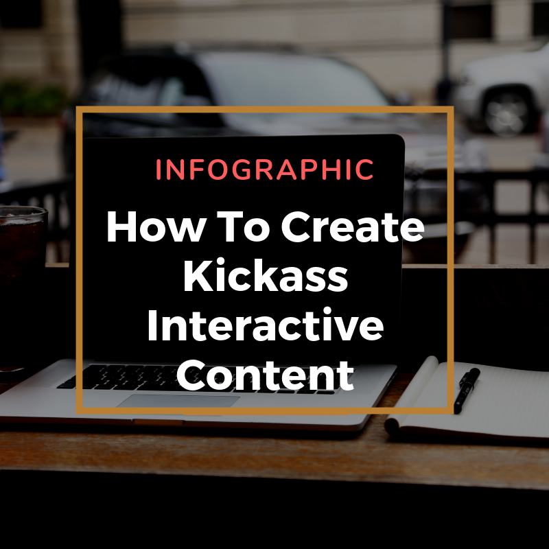 Infographic Kickass interactive content