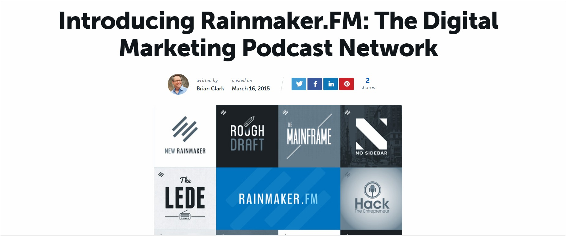 Top 15 podcasts every marketer should listen to
