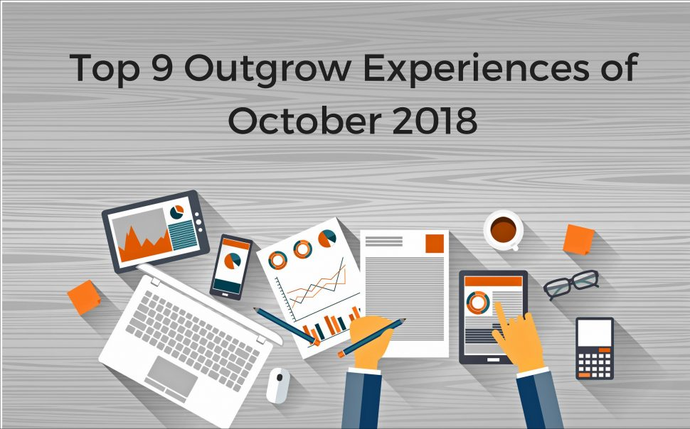 Top 9 Outgrow Interactive Experiences of october 2018