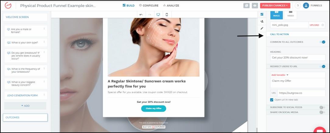 product segmentation funnel