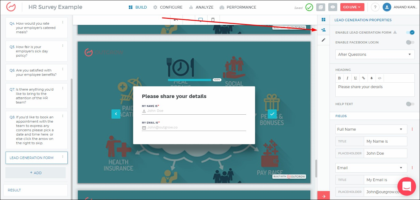 How to Create HR Surveys in Outgrow