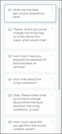 How to create a Student Satisfaction Survey on Outgrow