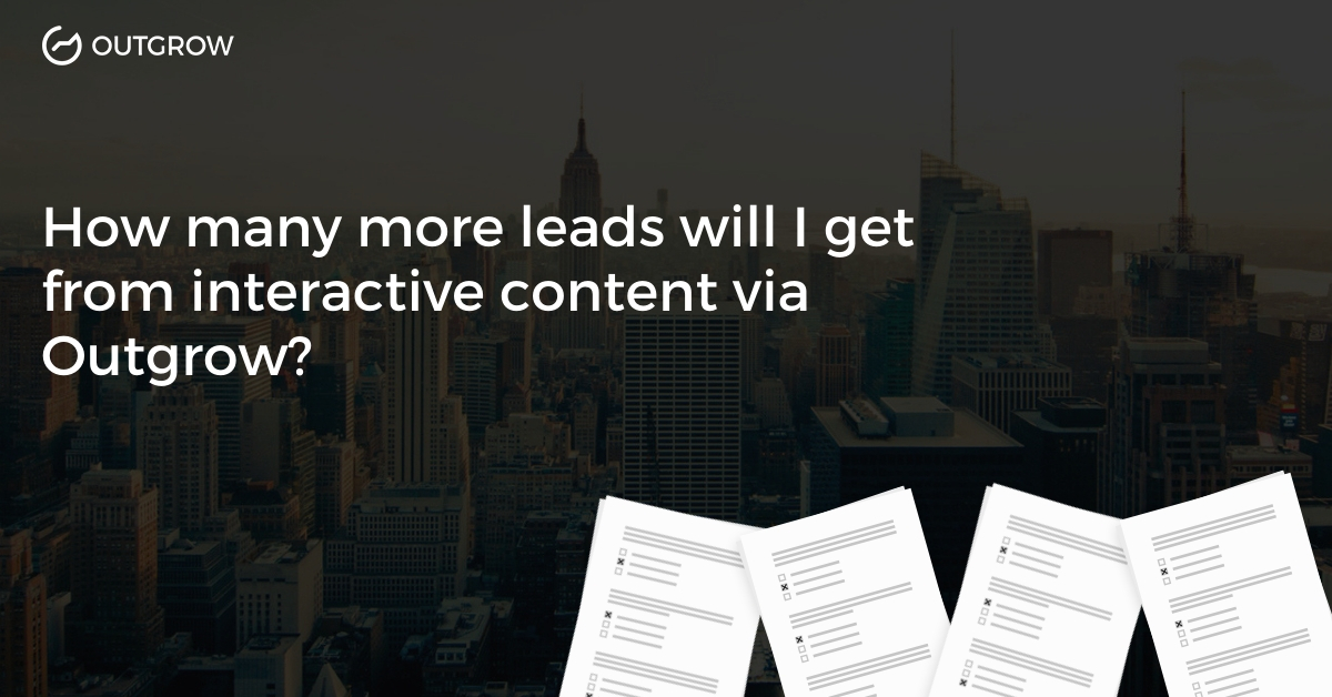 Outgrow Interactive Case Study: How Inventrom Generated 30000+ Leads