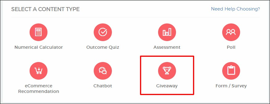 How To Create Contests and Giveaways On Outgrow