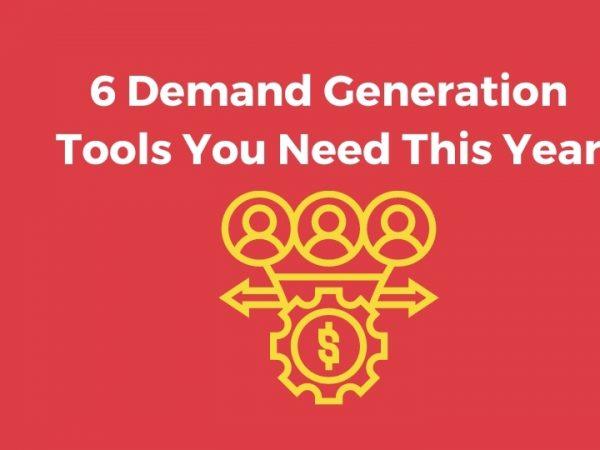 demand generation tools