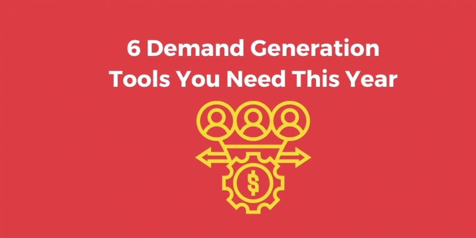 demand generation tools