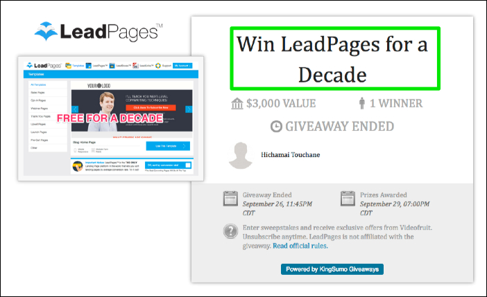 Amazing Marketing Contests And Giveaways Examples