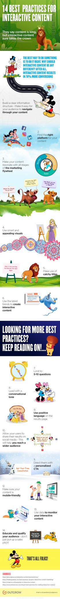 14 Best Practices For Interactive Content [Infographic]