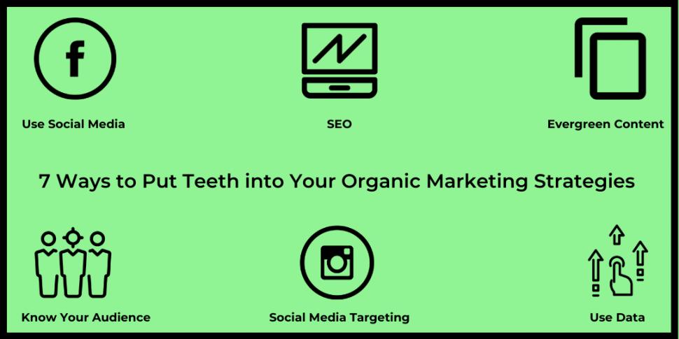 7 Ways to Put Teeth into Your Organic Marketing Strategies