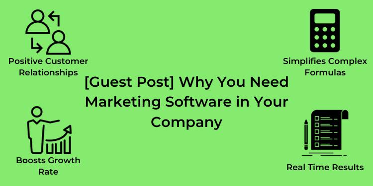 need marketing software for company