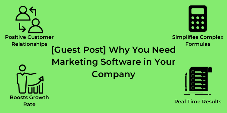 need marketing software for company