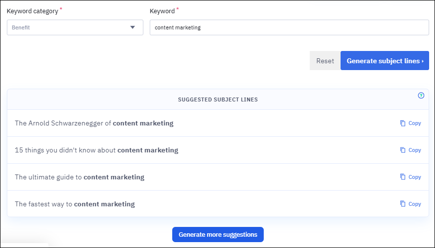 free content marketing tools