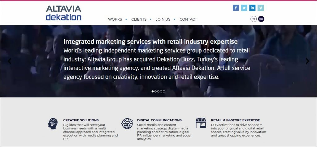content marketing agencies in the middle east #9: Anasayfa Dekatlon