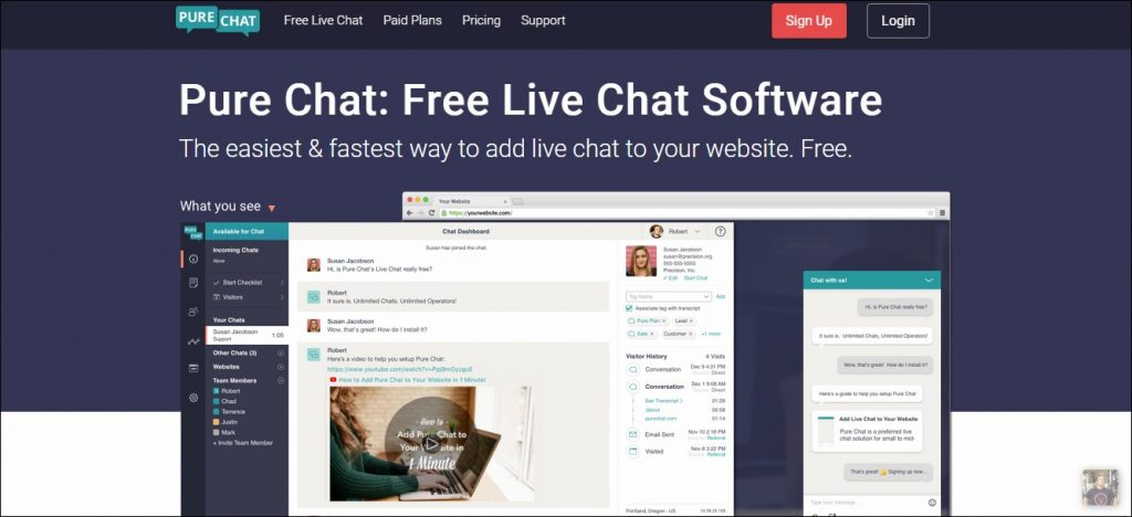 Pure Chat: List Building Tool
