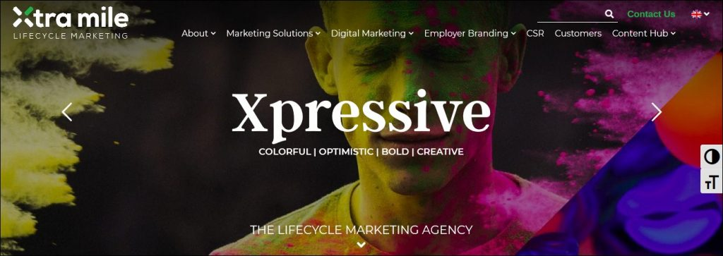 content marketing agencies in the middle east #11: Xtra-Mile Lifecycle Marketing