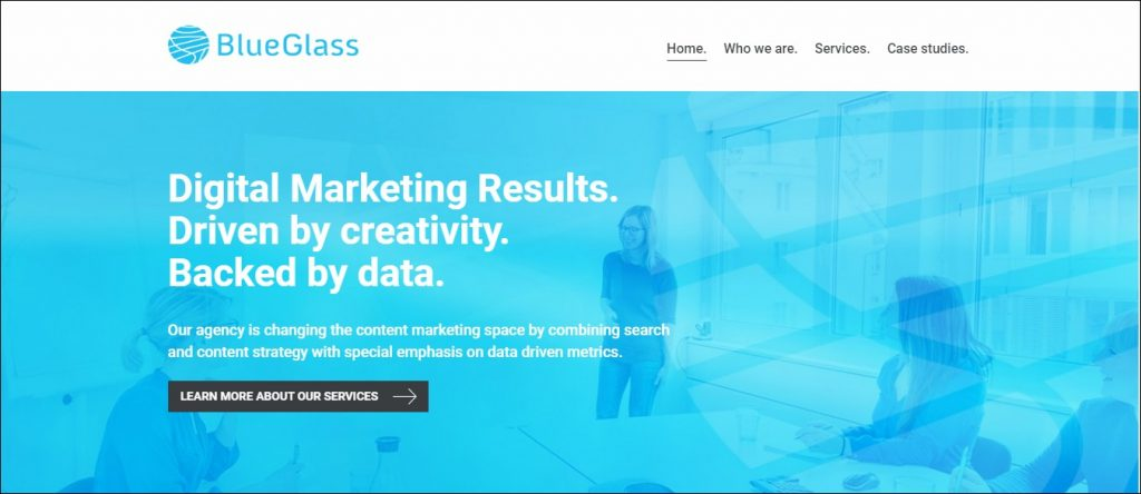 Blue Glass- Content Marketing Agencies in Europe