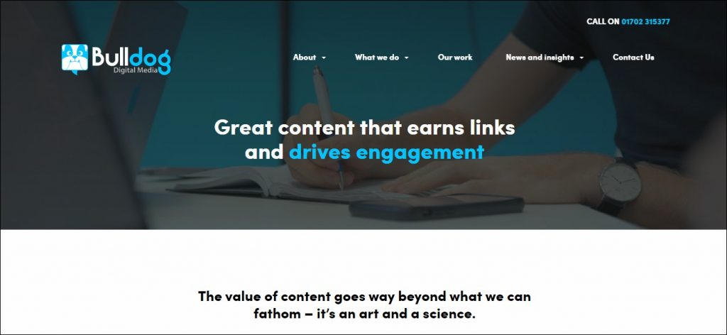Bull Dog - Content Marketing Agencies in Europe