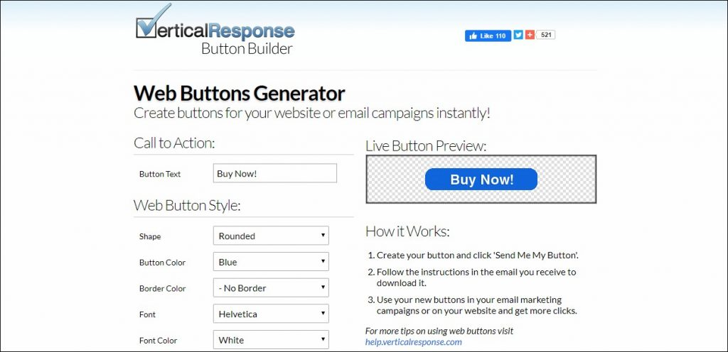 Button Builder: List Building Tool
