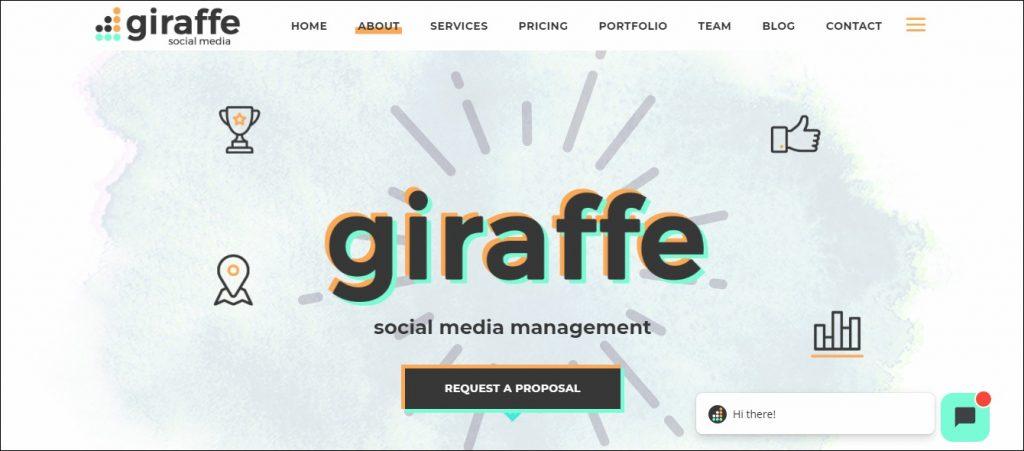 Giraffe- Content Marketing Agencies in Europe